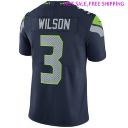 elite shirts Australia - Mens Youth LJ Collier jersey DK Metcalf Russell Wilson FAN 12s Marquise Blair sports usa soccer shirts american football jerseys navy elite