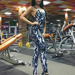 $enCountryForm.capitalKeyWord UK - Hot Sale Women Slim Sexy Backless Playsuits Female Casual Long Pants Fitness Camouflage V-neck Yoga Sport Jumpsuits Outfits