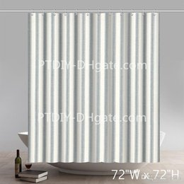 Wall Curtains UK - Bed Bath And Beyond Coupon French Country Dove Gray Ticking Stripe Brick Wall Pattern Stone And Rock Wall Shower Curtain