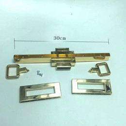 $enCountryForm.capitalKeyWord Australia - Purse frame with Purse lock Bag chain connector Twist Lock clasp Turn bag hardware