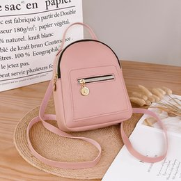 cute japanese phones 2019 - Cute Solid Protable Shoulder Bag Japanese Style Lovely Fashion Women Shoulders Small Letter Purse Mobile Phone Messenger