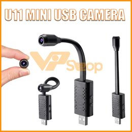 mini hd recorder NZ - New Arrival U11 Mini USB Camera HD 1080P Portable Video Recorder Digital Cam Micro Camcorder Motion Detection DV Cam Recorder