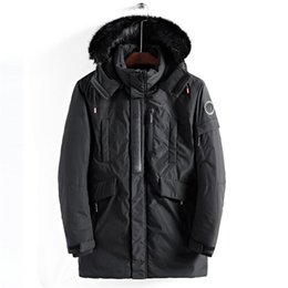 Discount mens hats xl - Winter Jacket Men Brand Clothing Fashion Casual Slim Thick Warm Mens Coats Parkas With Hooded Long Overcoats Male Clothe