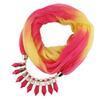 $enCountryForm.capitalKeyWord Australia - 2019 Fashionable new pendant lady chiffon gradient scarf jewelry necklace scarf scarf free delivery