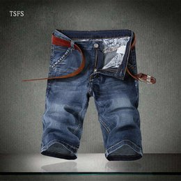 mens short jeans Australia - Designer Jeans Shorts Summer Denim Pants for Mens Casual Jeans Shorts Luxury Pants Zipper with Letters Brand Shorts