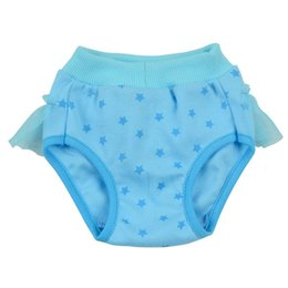 male diapers NZ - Female Male Pet Dog Puppy Diaper Pants Pet Underwear Physiological Sanitary Bow Short Panty Nappy Underwear