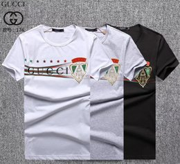 $enCountryForm.capitalKeyWord Australia - summer T-shirt 2019 NEW Summer Wear Men 3D Printed T-Shirt Hot Sale Crew Neck Short Sleeves Top Man 100% Cotton#134