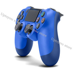 Station Wireless Controllers NZ - Bluetooth Wireless PS4 Controller for PS4 Vibration Joystick Gamepad PS4 Game Controller for Sony Play Station With retail box DHL ship