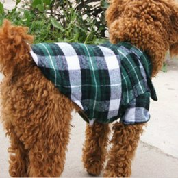 $enCountryForm.capitalKeyWord Australia - 2019 new pet dog clothes summer England plaid pet shirt pet spring and summer explosion fashion clothing