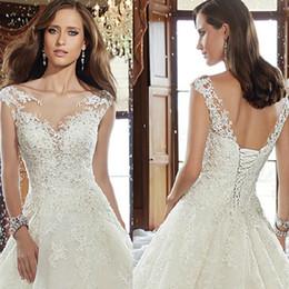 $enCountryForm.capitalKeyWord Australia - New Wedding dresses sexy lace print sleeveless hot selling decoration sexy back skirt bohemian wedding dress bridal gowns