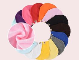 $enCountryForm.capitalKeyWord Australia - 50PCS Children's knit hat head outdoor autumn and winter children's hat wild models headgear men and women baby winter hat