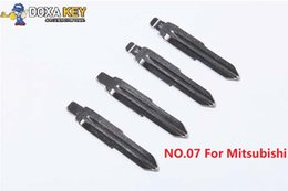 $enCountryForm.capitalKeyWord Australia - (5pcs) NO.07 Key Blade Replacement Flip Floding Blade Car key Blank For Mitsubishi Outlander
