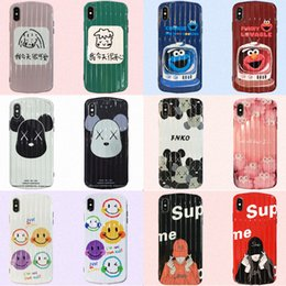 hot cell phone cases 2019 - For Iphone Xs Max X Xr Phone Case Fashion Brand Variety Hot Sale For Apple 7 8 Plus TPU PC Cell Phone Cases cheap hot ce