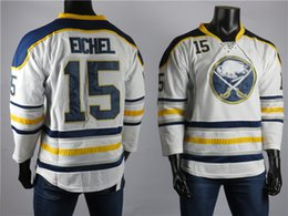 ice hockey player NZ - 2018 Buffalo Sabres Jerseys The Best Player Of 15 Jack Eichel Jersey High Quality Embroidered Men's White Ice Hockey Jerseys Stitched S-2XL