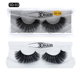 Top False Eyelashes Australia - Top seller 11 styles Selling 1pair lot 100% Real Siberian 3D Mink Full Strip False Eyelash Long Individual Eyelashes Mink Lashes Extension