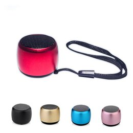 Wholesale Bluetooth Speakers Portable Small Pocket Size Super mini Wireless Speaker Tiny Body Loud Voice with microphone for smarphones