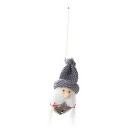 hanging doll decoration NZ - Christmas Small Delicate Puppet Doll Bell Hanging Home Tree Decoration Ornament