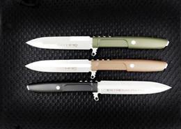 $enCountryForm.capitalKeyWord Australia - High-quality extrema ratio straight knife D2 Blade Fixed Blade hunting camping survival knife Xmas gift knife 1pc