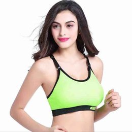 854cecd008 Women Sport Bras Sexy Breathable Holes Tops Underwear Gym Tank Tops Camis  Without Steel Workout Fitness Bras