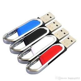 $enCountryForm.capitalKeyWord NZ - Factory price Capacity 4GB 128G USB 2.0 Pendrive USB Flash Drive Pen Drive Waterproof Metal U Disk Memory Stick silver U76