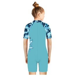 boys lycra suits NZ - 2020 Teenager Girls Boys Beach Swimwear Hot Sale Kids Summer Water Sports Swim Suits Cute 3D Print Cartoon One Piece Swimsuits