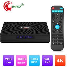 $enCountryForm.capitalKeyWord Australia - Original M9S W6 TV Box Android 7.1 Amlogic S905W 2.4GHz WiFi Quad Core Set UP Box 2GB 16GB Support H.265 4K Media Player IPTV Box
