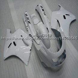 $enCountryForm.capitalKeyWord Australia - Screws+Gifts white motorcycle cowl for Kawasaki ZX11 ZX11R 1990-1991-1992 ABS Plastic Fairing