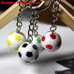 $enCountryForm.capitalKeyWord Australia - Casual Sporty Style Soccer Football Pvc Keychains For Men Women's Chain Fans Accessories For Bags Pendant Suspension Trinket