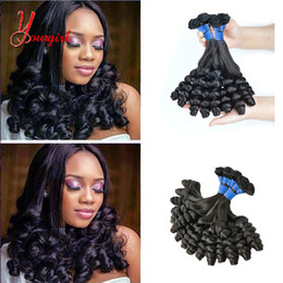Funmi Hair Australia - Raw Indian Human Virgin Funmi Hair Candy Curly Weave Bundles Grade 8A Mink Hair Machine Double Weft Cuticle Hold Soft And Smooth