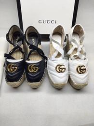 Denim peep toe online shopping - 2019 Sandals Women Summer Fashion Platform Leopard Peep Toe Sandals Casual Ankle Strap Gladiator Heels Ladies Shoes CM No box