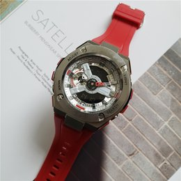 $enCountryForm.capitalKeyWord Australia - Hot Fashion Brand Watch 45 degree automatic hand lamp, shockproof and waterproof, world time, alarm, Rubber Strap digital watch