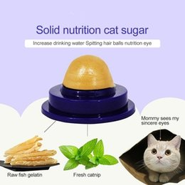 licking toys UK - 1 2 3 5pcs Catnip Sugar Cats Snacks Licking Candy Nutrition Energy Ball Toys For Cat Kitten Playing Pet Cat Products TSLM1