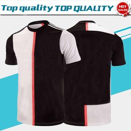 Uniform brand online shopping - 2019 Brand New RONALDO Home Soccer Jerseys DYBALA MANDZUKIC KEAN soccer shirt Short sleeve Football uniforms On Sale