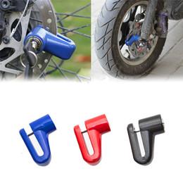 bicycle u locks 2019 - Weatherproof Bike U Lock Security Anti Theft Heavy Duty Motorcycle Bicycle Moped Scooter Disk Brake Rotor Lock #2a15 che