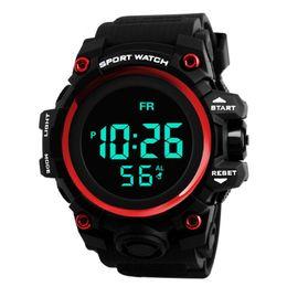 Men Digital Wrist Watches Australia - HONHX Men's Clock Sport Digital LED Waterproof Wrist Watch Luxury Men Analog Digital Army Stylish Mens Electronic #Zer