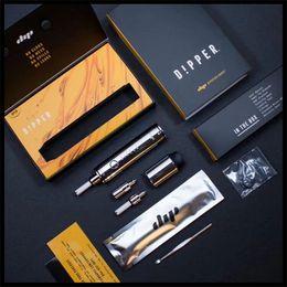 E pEn tops online shopping - dipstick dipper e cigarette vaporizer kit portable concentrate wax e smoking vape pen dip and dab vape pen mod top seller