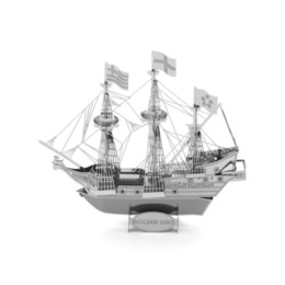 $enCountryForm.capitalKeyWord Australia - 3D Puzzles Golden Hind Ship - 3D Metal Model Kit - DIY Model Animal Educational Toys Best Of All And No Glue