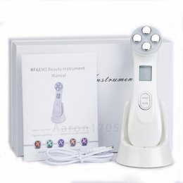 mesoporation NZ - EMS Mesoporation Machine Mesotherapy RF Radio Frequency Facial LED Photon Therapy Skin Care Beauty Device Portable Home Use