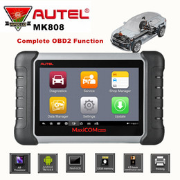 Honda Engines Australia - Autel MaxiCom MK808 Auto OBD2 Diagnostic Tool Car Scanner Engine Analysis Tool All System Oil Reset EPB DPF TPMS Key Programmer