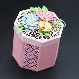 Diseño de Cajas 3D para Scrapbooking Metal Cutting Die Seal para DIY Tarjeta de Álbum de Fotos Fabricación de DIY Decoración en venta
