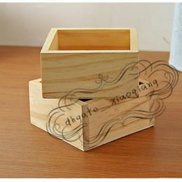 $enCountryForm.capitalKeyWord Australia - Free Shipping Wood Box Succulent Planter wooden Flower pot fence planter tray home and shop decorative