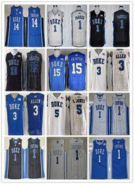 5b1b5c312bd 2016 Duke Blue Devils Jerseys College 3 Grayson Allen 1 Kyrie Irving Shirt  1 Jabari Parker 3 Grayson Allen 5 Tyus Jones 12 Justise Winslow
