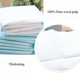 sunglasses cleaning UK - 4 Size Pet Diaper Super Absorbent Dog Training Pee Pads Healthy Clean Dog Pads Disposable Dog Diaper Puppy Training Toilet Mat