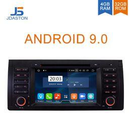 $enCountryForm.capitalKeyWord Australia - JDASTON Android 9.0 Car multimedia player For BMW X5 M5 E39 E53 GPS Navigation 1 Din Radio Stereo WIFI AutoAudio Canbus