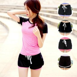 $enCountryForm.capitalKeyWord NZ - Athletic Adjustable Strappy Mesh Yoga Shorts Fitness Clothes Women Cool Ladies Sport Hiking Girls Running Outdoor Sportswear #242344