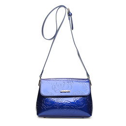 China bags for women 2018 alligator bag woman patent leather purse handbags Shoulder girl crossbody bag bolsa feminina bolsos mujer cheap handbags for women black patent suppliers