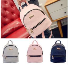 Character Backpacks Australia - Women Mini Bags Backpack Girl School Bag Rucksack Leather Travel Bags Ladies Backpacks Girls PU Soft Small Bags
