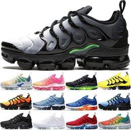 $enCountryForm.capitalKeyWord NZ - Discount Tn Plus Mens Women Running Shoes Oreo Triple Black White Light Menta Bumblebee Rainbow Men Designer Sport Sneaker Cheap Size 36-45