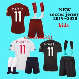 Wholesale women s training suit resale online – 19 kids kit sock New chandal Survetement soccer training suit football Children tracksuit