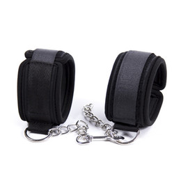 $enCountryForm.capitalKeyWord UK - Sweet Magic Soft Padded Hand Cuffs Ankle Cuffs With Chain BDSM Restraint Bondage Accessories For Couples Cosplay Adult Games